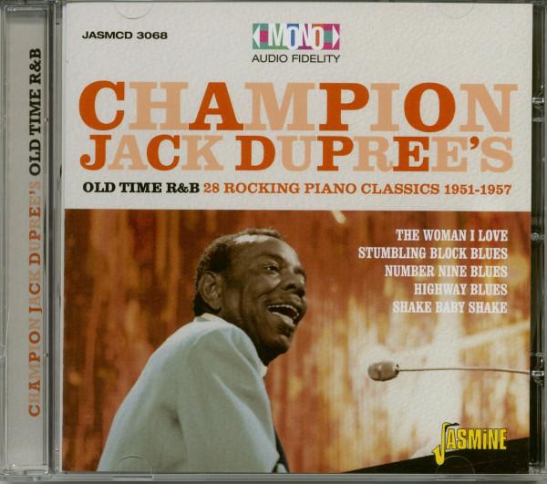 Old Time R&B: 28 Rocking Piano Classics (CD)
