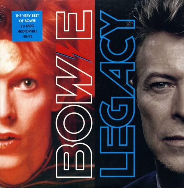 Legacy - The Very Best Of David Bowie (2-LP, 180g Audiophile Vinyl)