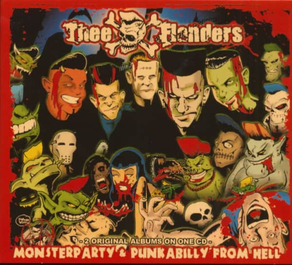 Monsterparty - Punkabilly From Hell (CD)