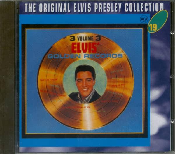 Elvis' Golden Records Vol.3 - The Original Collection #19 (CD)
