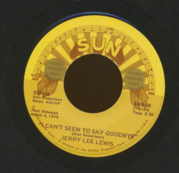 I Can't Seem To Say Goodbye - Waiting For A Train (7inch, 45rpm)
