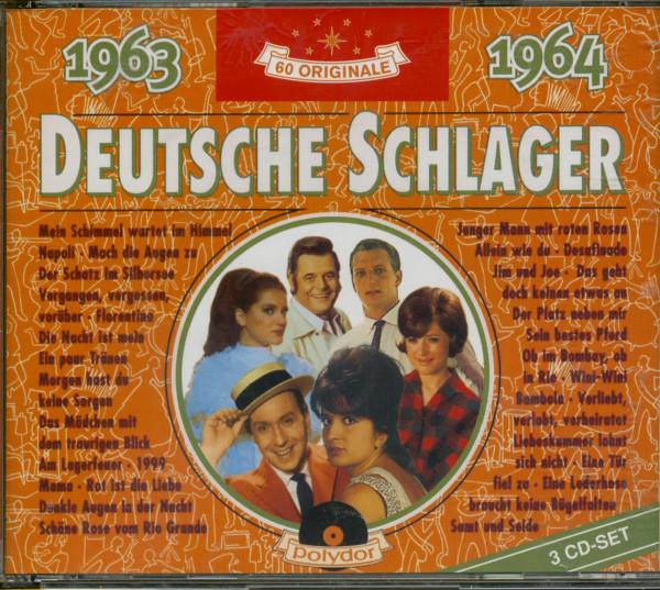 Deutsche Schlager 1963-1964 3-CD