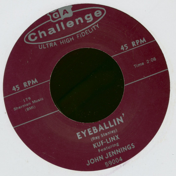 Eyeballin' - Service With A Smile (7inch, 45rpm)