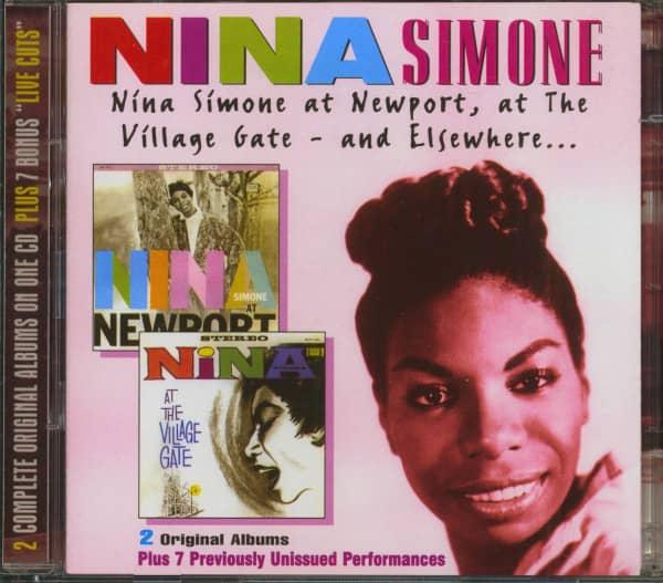 Nina Simone At Newport, The Village Gate and Elsewhere (2-CD)