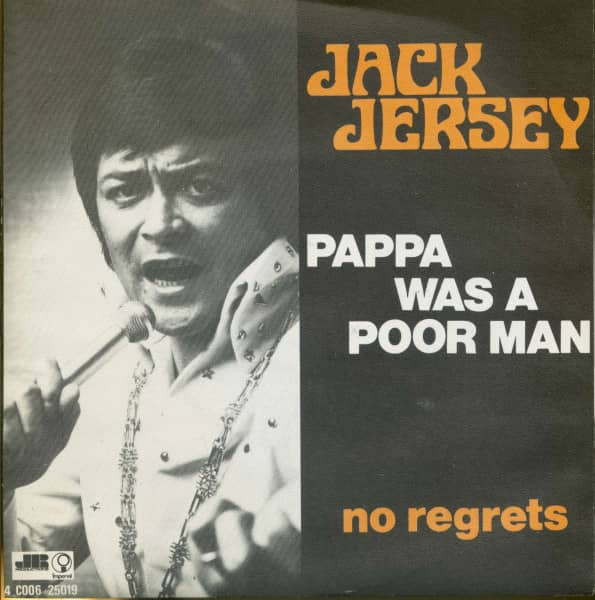 Pappa Was A Poor Man - No Regrets (7inch, 45rpm, PS)