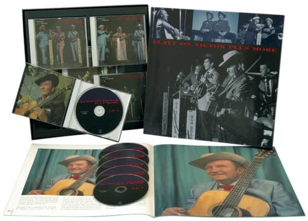 Flatt On Victor Plus More (6-CD Deluxe Box Set)