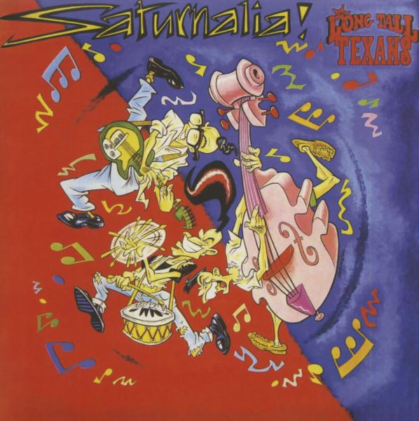 Saturnalia! (LP, White Vinyl, Ltd.)