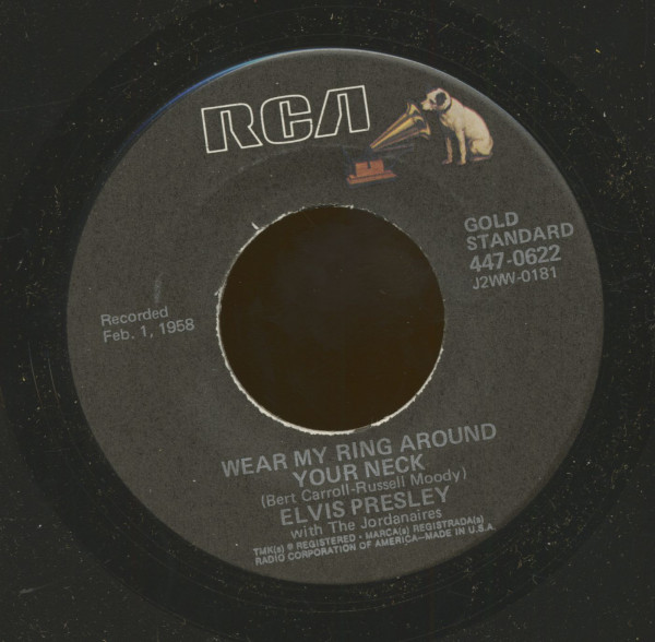 Wear My Ring Around Your Neck - Doncha' Think It's Time (7inch, 45rpm)