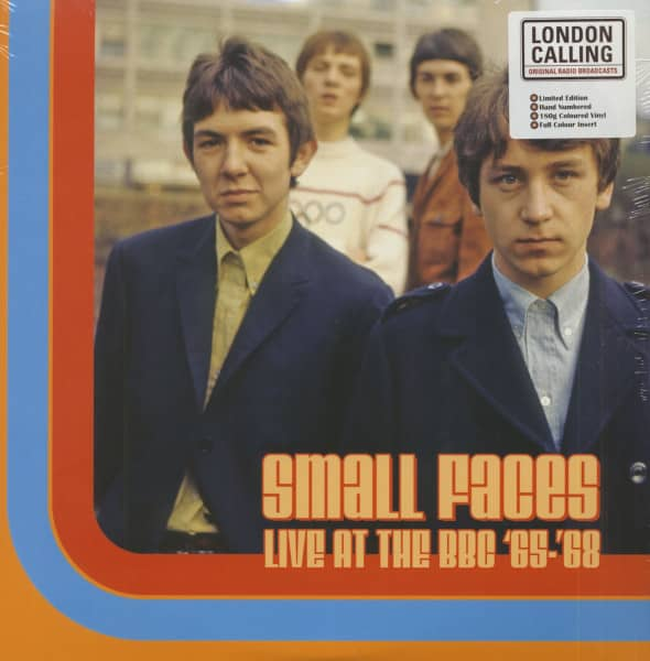 Live At The BBC 65-68 (LP, 180g Orange Vinyl, Ltd. & Numbered)