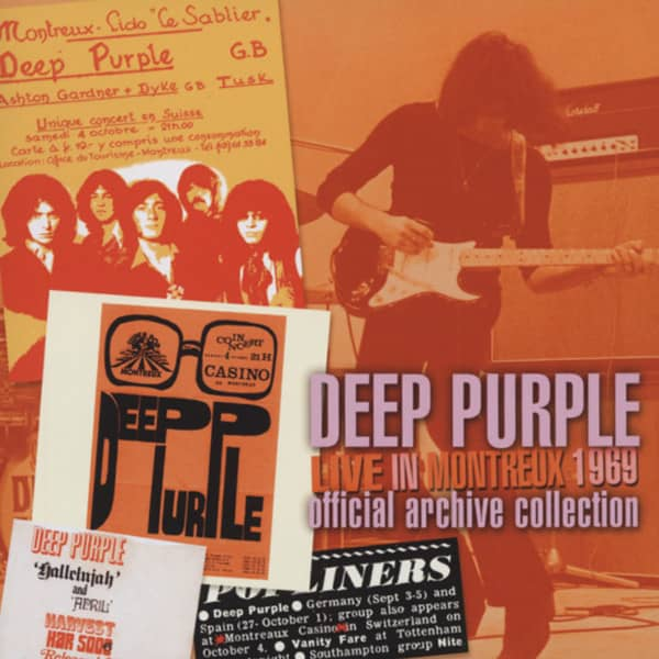 Deep Purple Live In Montreux 1969 (2-CD) Archive Collecti