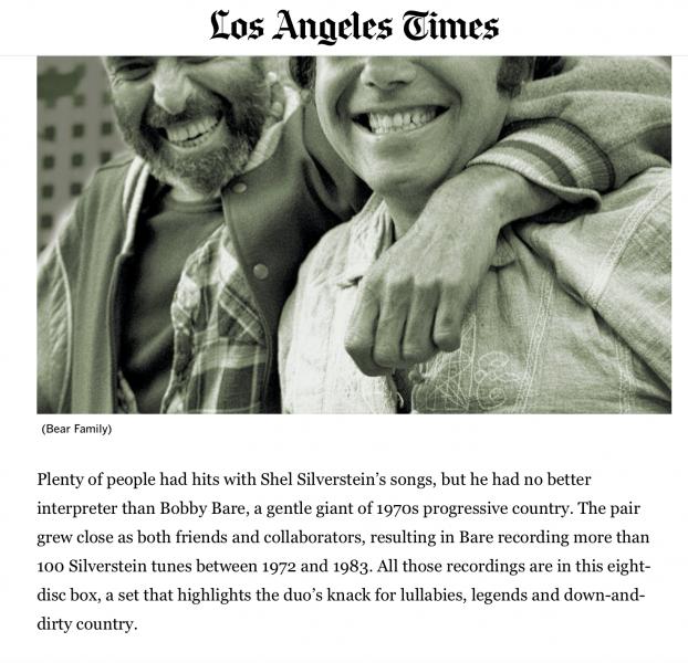 Presse-Archive-Bobby-Bare-Bobby-Bare-Sings-Shel-Silverstein-plus-LA-Times