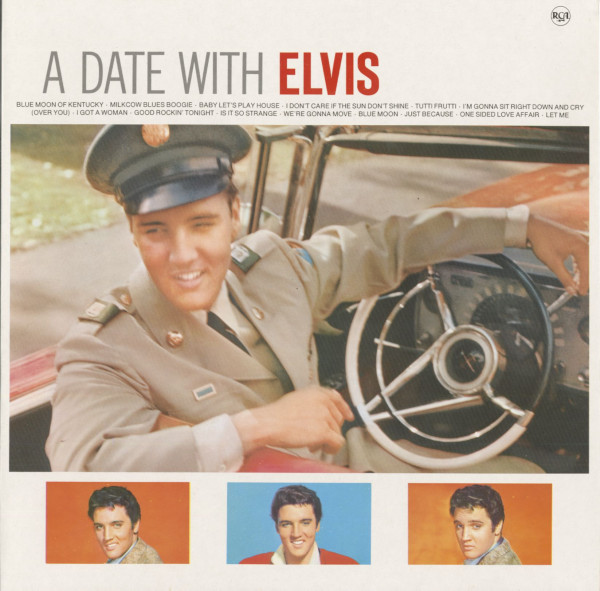 A Date With Elvis (LP - 1989 Compilation Germany Mono)