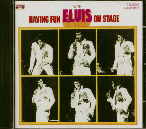 Having Fun With Elvis On Stage (CD)