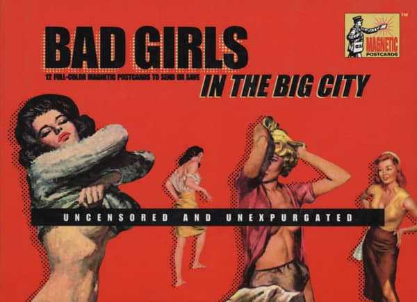 Bad Girls In The Big City - Running Press: 12 Magnetic Postcards