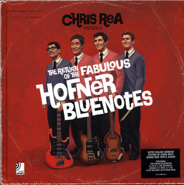 Fabulous Hofner Bluenotes (Book - 2x10'LP - 3-CD)