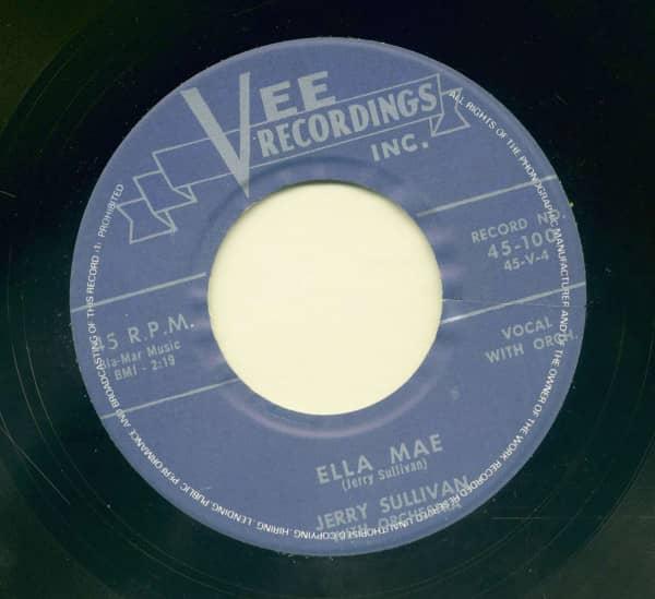 Curley Headed Baby - Ella Mae (7inch, 45rpm)