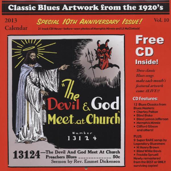 Classic Blues Calendar 2013