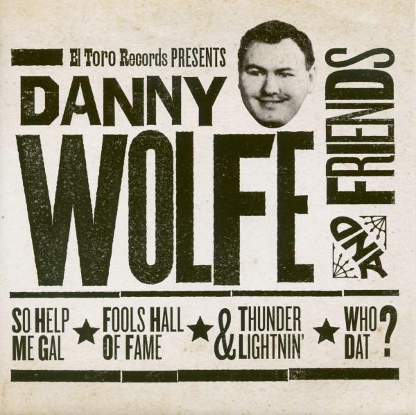 Danny Wolfe & Friends (33rpm, EP, PS, SC)