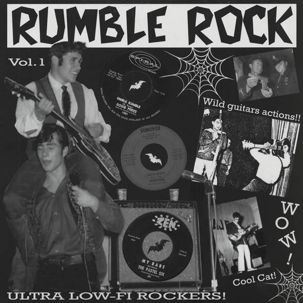 Rumble Rock Vol.1 - 16 Ultra Low-Fi Rockers (LP)