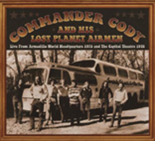 Commander Cody Live From Armadillo World Headquarters(2-CD)