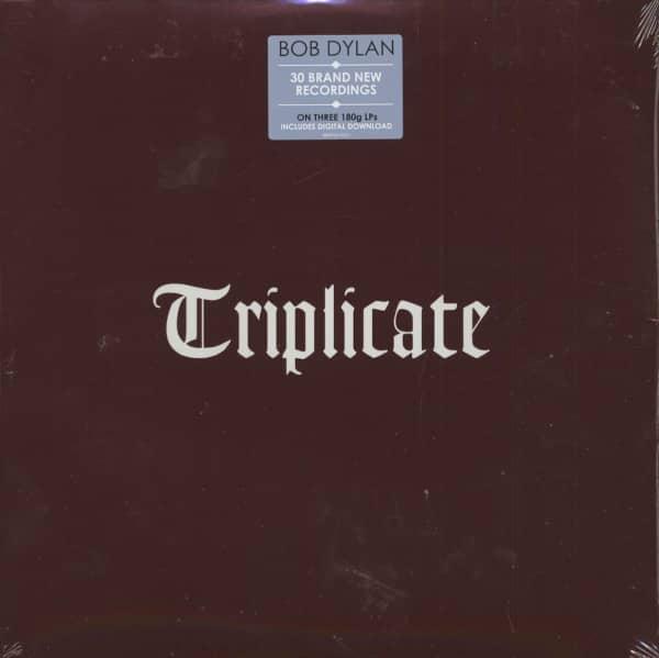 Triplicate (3-LP, 180g Vinyl)