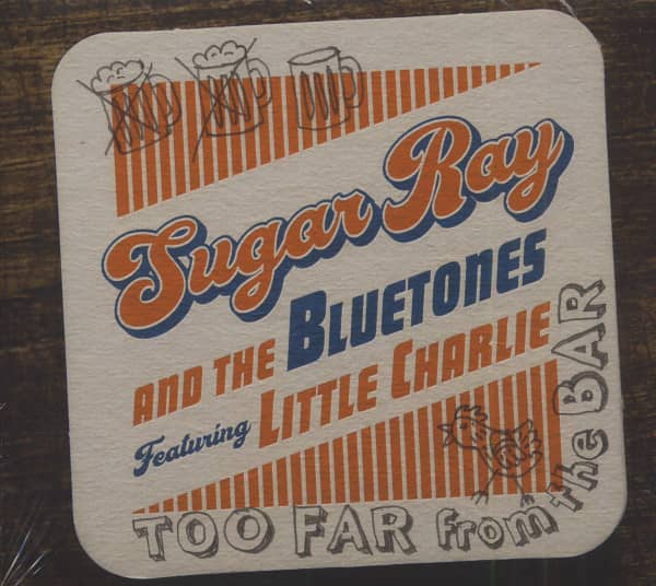 Too Far From The Bar (CD)