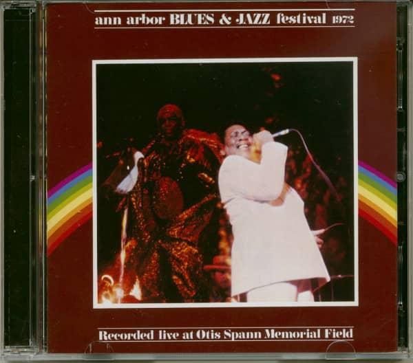Ann Arbor Blues & Jazz Festival 1972 (2-CD)