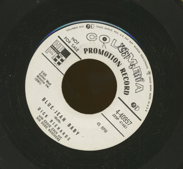Blue Jean Baby - We've Got A Right To Love (7inch, 45rpm)