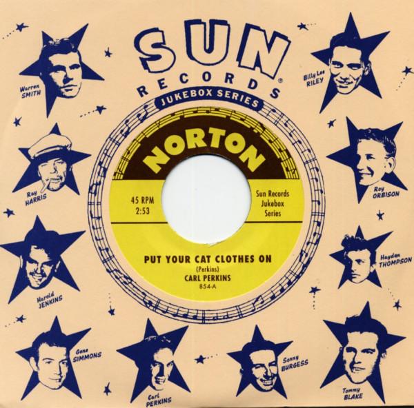 Sun Records Jukebox Series - Carl Perkins & Warren Smith (7inch, 45rpm)