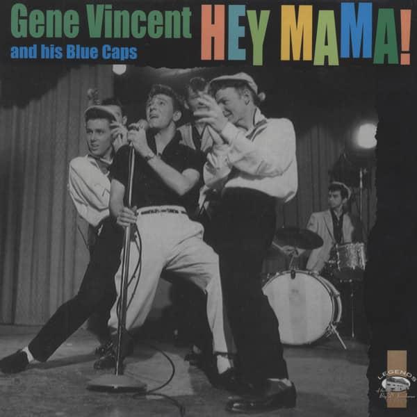 Vincent, Gene Hey Mama ! - 10'LP