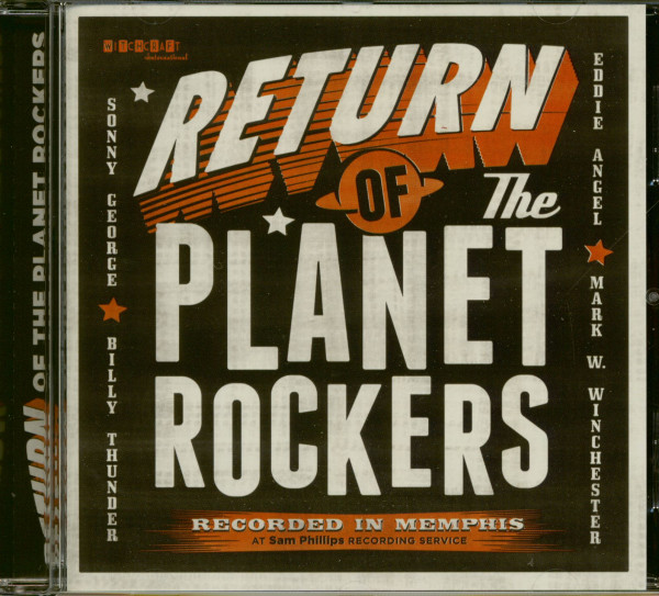 Return Of The Planet Rockers - Recorded In Memphis (CD)