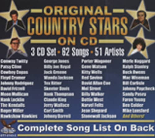 Va Original Country Stars On CD (3-CD)