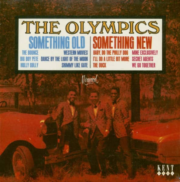 Olympics Something Old Something New - Papersleeve