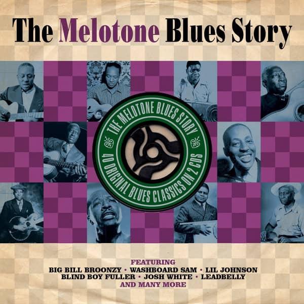 Melotone Blues Story (2-CD)