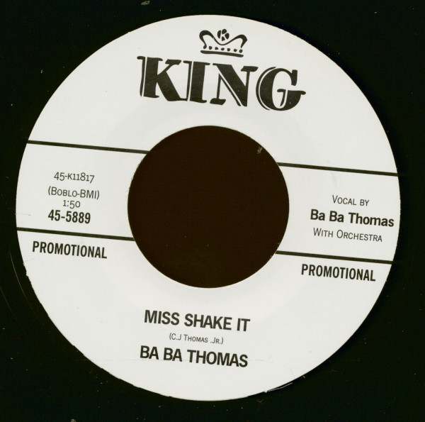 Miss Shake It - (Why Don't You) Leave It Alone (7inch, 45rpm)