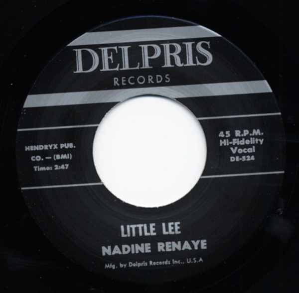 Little Lee - I Like The Way You Walk 7inch, 45rpm