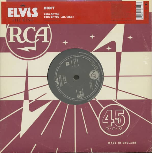 The King, Vol.7 - Don't (10inch, 45rpm, EP)