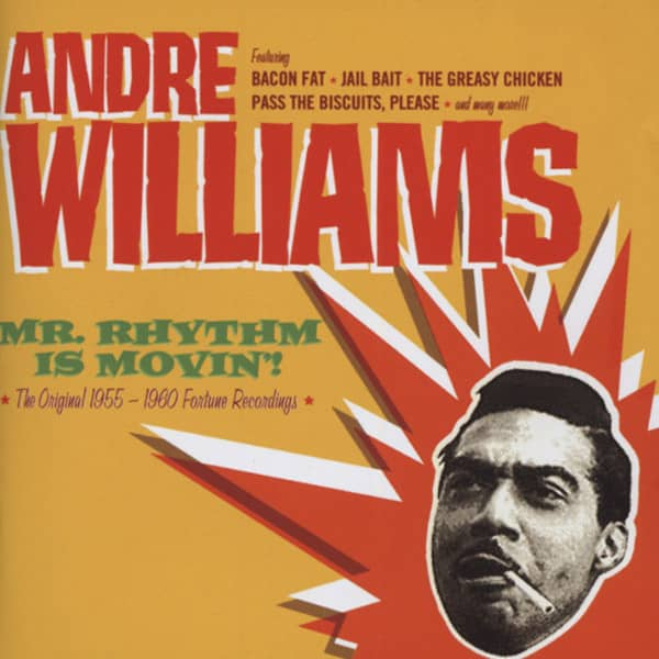Williams, Andre Mr. Rhythm Is Movin' (Fortune 1955-60)