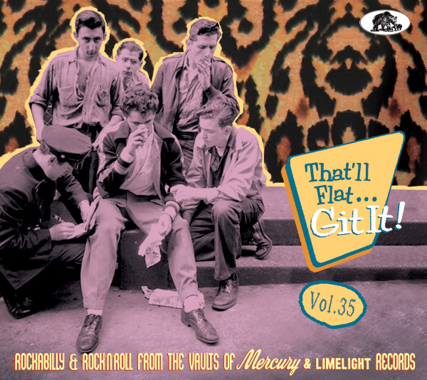 Vol.35 - Rockabilly & Rock 'n' Roll From The Vaults Of Mercury And Limelight Records (CD)