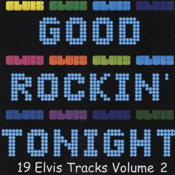Good Rockin' Tonight Vol.2, Elvis Tracks