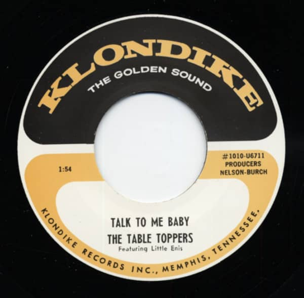 Talk To Me Baby b-w Baby In Blue 7inch, 45rpm