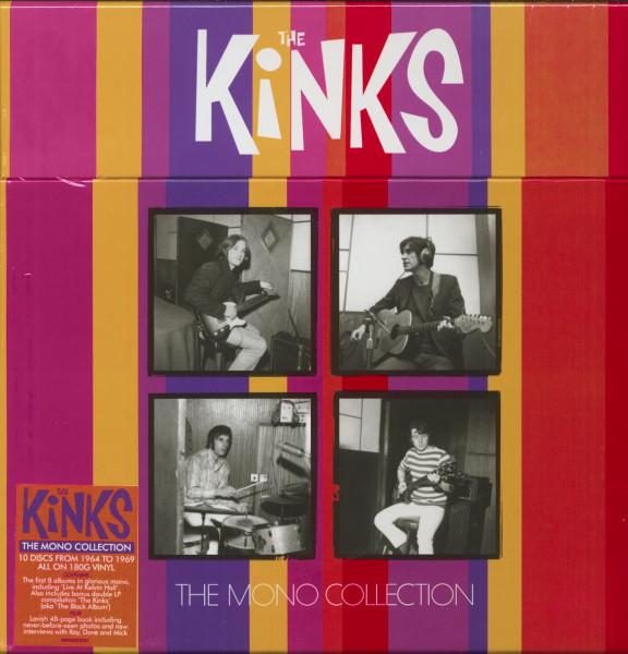 The Kinks - The Mono Collection (10-LP Box, 180g Vinyl, Ltd.)