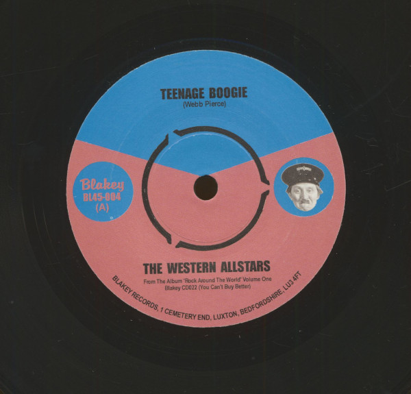Teenage Boogie - Monkey, Monkey (7inch, 45rpm, sc)