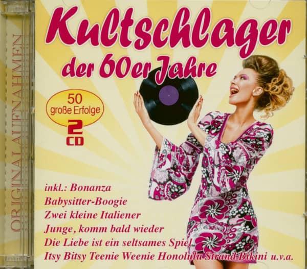 Kultschlager der 60er Jahre (2-CD)