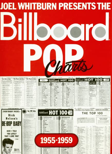 Billboard POP Charts 1955-1959 (Hardcover)