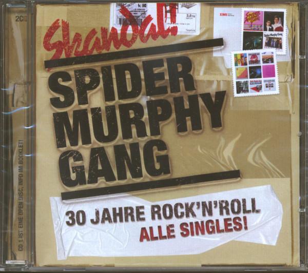 Skandal! - 30 Jahre Rock'n'Roll - Alle Singles! (2-CD)