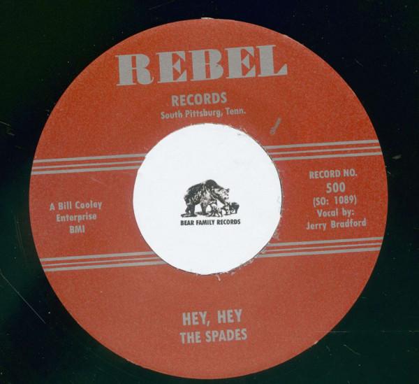 Jim Dandy - Hey, Hey (7inch, 45rpm)