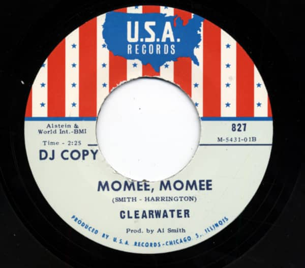 Momee, Momee b-w The Duck Walk 7inch, 45rpm