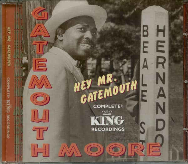 Hey Mr Gatemouth - Complete King Recordings (CD)