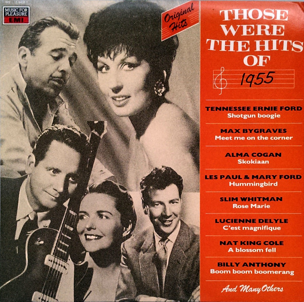 Those Were The Hits Of 1955